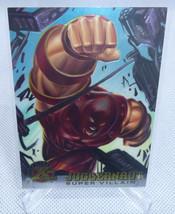 1995 Marvel Fleer Ultra X-Men Juggernaut Foil Trading Card #66 Nice - $6.92