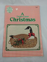 A Gordon Fraser Christmas Cross Stitch Pattern Book Designs by Gloria Pat - $1.95