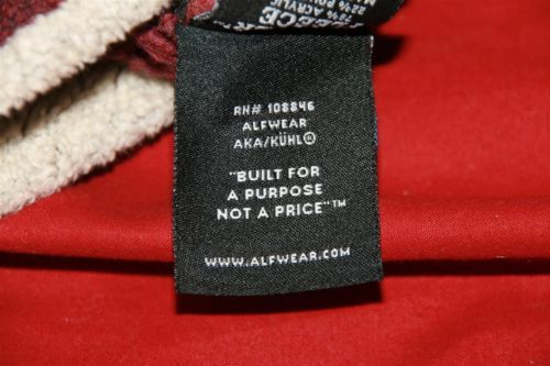 Alf Clothing Burgandy Pull Over Hoodie Sz M  Blind Dog Park City Embroidered image 8
