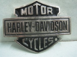 Antique Badge in metal Motor Cycles Harley- Davidson - $20.75