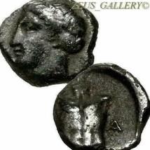APOLLO / Cuirass Armor. 400 BC. Magnesia ad Meander Rare Authentic Ancie... - $152.10