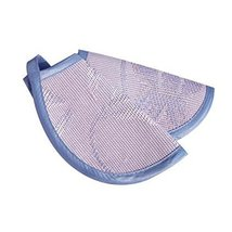 Soft Breathable Baby Nurse Arm Mat Breast Feeding Pillow, Blue image 1