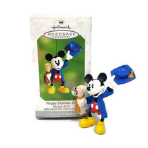 Hallmark Keepsake Ornament Happy Diploma Day Mickey Mouse World of Wishe... - $9.88