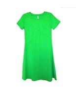 NEW acid green retro mod dress stretch gogo mini - $24.99