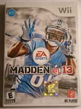 Nintendo Wii - MADDEN NFL 13 (Complete with Manual) - €22,11 EUR