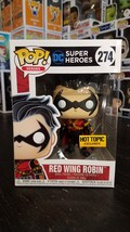 Funko POP DC Heroes # 274 Red Wing Robin Hot Topic Exclusive - $25.00