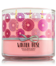 Bath & Body Works Winter Rose Three Wick 14.5 Ounces Scented Candle - $22.49