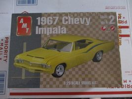 AMT 1967 Chevy Impala 1/25 scale - $35.99