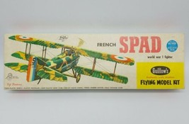 Guillow's French SPAD WWI Fighter Flying Balsa Model Airplane Kit Unbuil... - $98.88