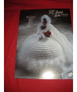MISS JANUARY BRIDAL BELLE COLLECTION FASHION DOLL CROCHET PATTERN ANNIE'S ATTIC - $5.99
