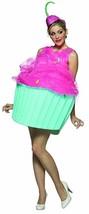Rasta Imposta Süß Eats Cupcake Dessert Erwachsene Damen Halloween Kostüm 7086 - $46.74