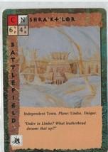Shra'kt'lor  - Blood Wars Collectible Card Game - TSR - Battlefield - 1993. - $0.97