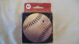 Round Baseball Playing Cards with Vintage Photos from MLB - $13.85