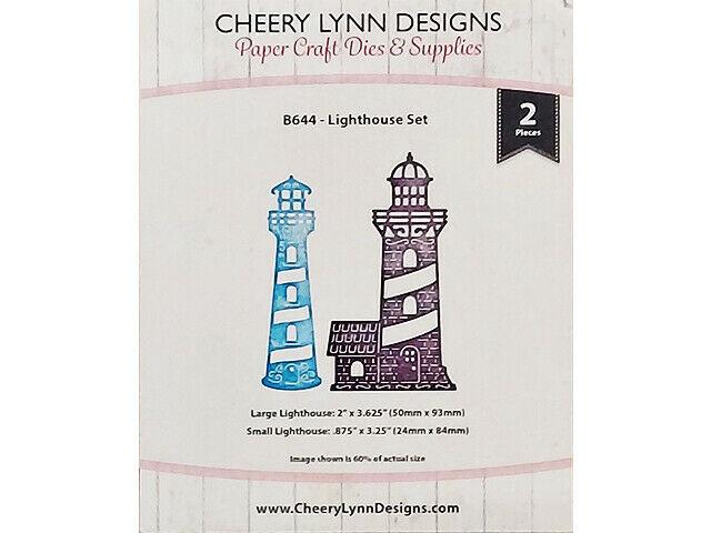 Cheery Lynn Designs Lighthouse Die Set #8644