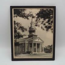 Incorniciato Fotografia Nero e Bianco Chiesa 594ms Vintage - $74.86