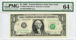 FR. 1906B 1969C $1 Federal Reserve Note New York PMG Choice Unc 64 EPQ - $33.95