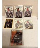 5-1994 NBA Hoops David Robinson DR1 Celebrating 5 years Spurs & Topps Gold - $14.95