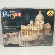 St. Peter's Basilica 3D Puzzle 966 Piece Vatican Saint-Pierre de Rome Vintage - $99.46