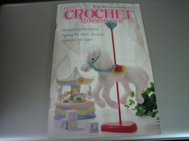 Annie's Crochet Newsletter Booklet #38 - March/April 1989 - $6.92