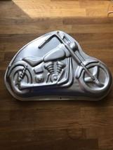 Vintage Wilton Cake Pan Motorcycle Low Rider like Harley Davison 1999 #2... - ₨2,300.25 INR