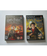 Lot of 2 Harry Potter PS2 Games Goblet of Fire (New) Chamber of Secrets ... - $19.62