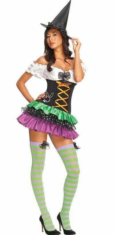 Secret Wishes Playboy Sexy Witch Costume Small Medium, 6-10