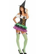 Secret Wishes Playboy Sexy Witch Costume Small Medium, 6-10 - $21.82 CAD