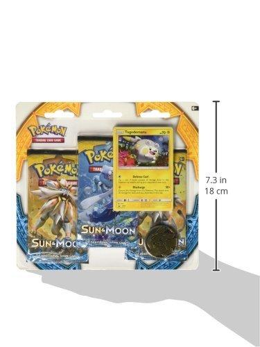 Pokemon TCG: Sun & Moon Three-Booster Blister Game