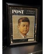 JFK FRAMED SATURDAY EVENING POST DECEMBER 14,1963 JFK IN MEMORIAM NORMAN... - $59.40