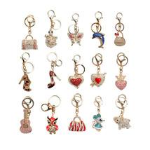 Women's Girls' Charm Bling Bling key chain Rhinestone Crystal Car Handba... - $3.99
