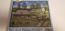 Studio Puzzle Bits And Pieces 1000 Pieces Bobs Fair The Canaan Station Puzzle - $34.99