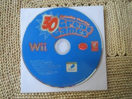 Family Party: 30 Great Games (Nintendo Wii, 2008) DISC ONLY - $4.00