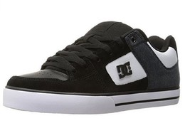 Mens DC (Black/White) Pure SE Shoes - $70.00
