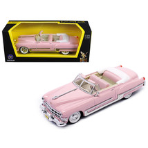 1949 Cadillac Coupe De Ville Pink 1/43 Diecast Model Car by Road Signature 94223 - $15.99