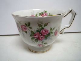 AYNSLEY - FINE ENGLISH BONE CHINA - GROTTO ROSE - TEACUP ONLY - JJ - $11.00