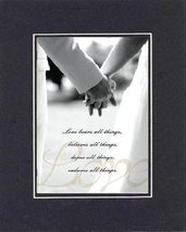 Poems for Wedding - Love bears all things, believes all things, hopes all things - $11.14