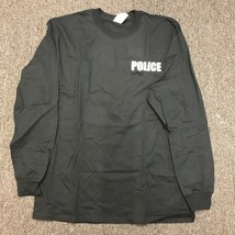 Police Long Sleeve Black T shirt Men Size S-3XL - $10.73+