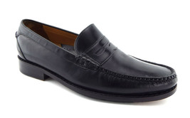 COLE HAAN Size 9 Black Leather Penny Loafers Shoes Air - $49.00