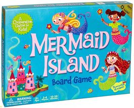 Peaceable Kingdom Mermaid Island Award Winning Children & Family Booard ... - $29.88