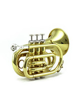 15% OFF FINAL SALE!Guarantee Quality Sound SKY Band Approved Pocket Trumpet - $199.99