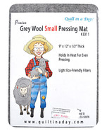Quilt in a Day Premium Grey Wool Small Pressing Mat 3311 - $41.95
