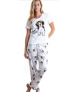 Dog Beagle pajama set with pants for women - $35.00