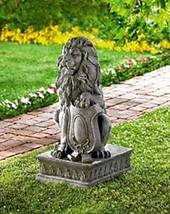 38624 Summerfield Terrace Lion Guardian Statue - $62.49