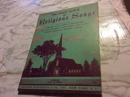 The Finest Album of Religious SOngs Paul La Berte Sheet Music 1945 Serie... - $5.13