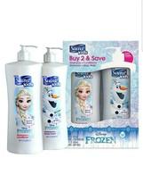 3 Set Suave Kids Disney Frozen Shampoo+Conditioner Body Wash+Shampoo Pum... - $54.17