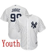 New york yankees youthkids  99 aaron judge jersey white home stitched baseball thumbtall