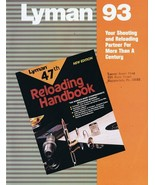ORIGINAL Vintage 1993 Lyman Telescopic Sights & Accessories Catalog - $18.55