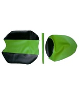 Kawasaki Ninja 250 08/12 Scorpion Line Vinyl Seat Cover CF Black/AS Lime Green - $50.00