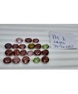 Multicolor maximum Red eye clean tourmaline 12Pcs lot 20.35 carat total ... - $247.50