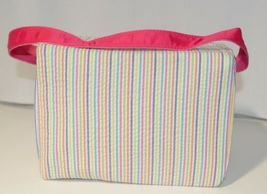 Oh Mint 1609999STRIPE Rainbow Stripe Seersucker Lunch Box image 3